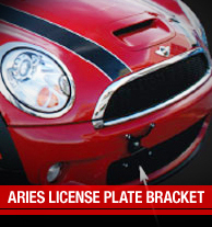 Aries License Plate Frames