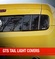 GTS Tail Light Covers